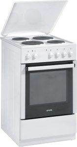 Готварска печка Gorenje E51102AW, Обем 49 л, Клас B, Бял