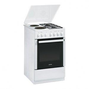 Готварска печка Gorenje K55206AW2, Обем 48 л, Клас А, Бял