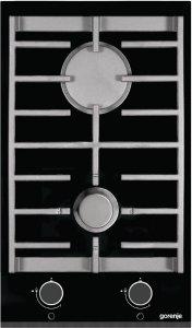 Стъклокерамичен плот Gorenje GC341UC, 2 нагревателни зони, черен