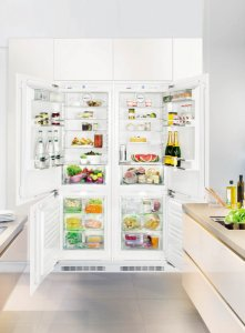 Хладилник SidebySide за вграждане Liebherr SBS 66I2