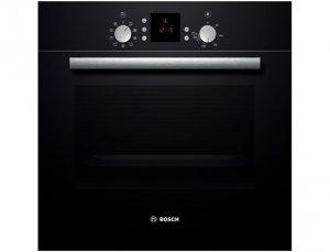 Фурна за вграждане Bosch HBN531S1F, Клас А, 66 л, Черна
