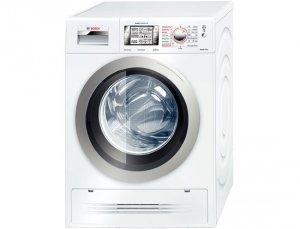 Пералня със сушилня Bosch WVH 30542 EU, Пране 7 кг, Сушене 4 кг, 1500 об/мин, Клас A, Бяла