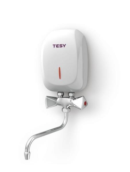 Проточен бойлер TESY IWH 35 X02 KI, 3.5 kW, бял, 301657