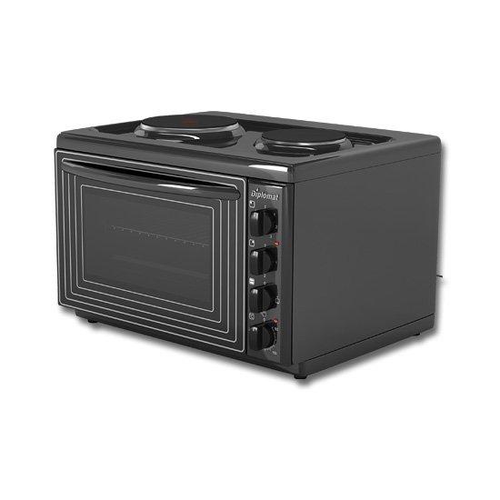 Мини готварска печка Diplomat DPLB20E, от Technoarena