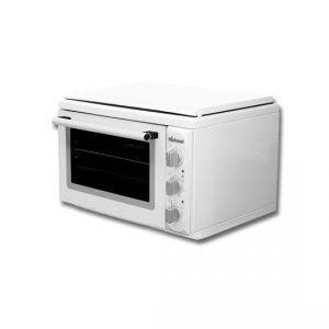 Мини готварска печка Diplomat DPLWSK20E, Обем 38 л, Клас А, Бял