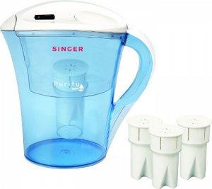 Филтрираща кана за вода Singer PURIFY WP 02, капацитет 2 л, активен филтър