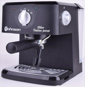 Кафемашина Rohnson R 971, Еспресо, 950 W, 15 бара, Черна