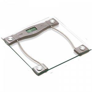 Kантар ELITE BS 0252, Капацитет 150 кг, LCD дисплей, Бял