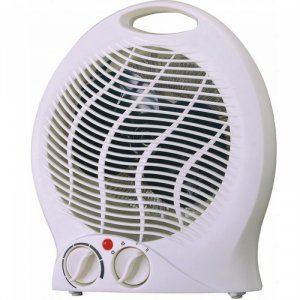 Вентилаторна печка Arielli FH-04, 2000 W, бяла, защита среду прегряване