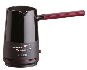 Кафемашина шварц Singer Meraki 2, 800 W, 4 чаши, Черна