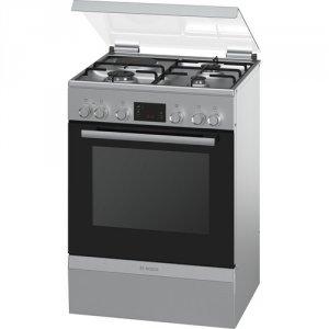 Готварска печка Bosch HGD74D250E, Обем 66 л, Клас А, Бял