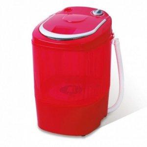 Мини пералня Lamarque LWM 15025, Капацитет 2 кг, Червена