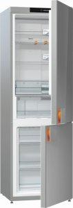 Хладилник с фризер Gorenje NRK612ST, Клас А++, Обем 329 л