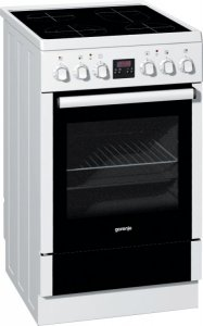 Готварска печка Gorenje EC57320AW, Обем 59 л, Цвят: бял