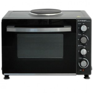 Мини готварска печка First Austria FA 5045-3, обем 30 л, Черен