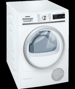 Сушилня Siemens WT45W561BY, Обем 9 кг, Клас А++, Бял