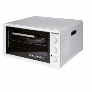 Мини готварска печка Concepta EO3600, Обем 36 л, Таймер, Бял