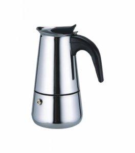 Кафемашина шварц Elekom EK 3060, За котлон, 6 чаши, Сива