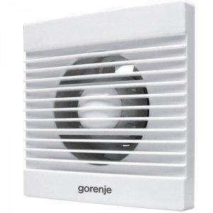 Вентилатор за баня Gorenje BVN100WS, 15 W, бял, 2400 обр./мин