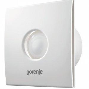 Вентилатор за баня Gorenje BVX100WS, 15 W, бял