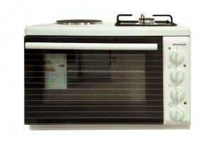 Мини готварска печка Snaige SNG-11GB, Клас А, Бял