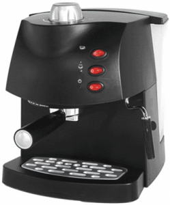 Кафемашина Rohnson R 973, Еспресо, 850 W, 15 бара, Черна
