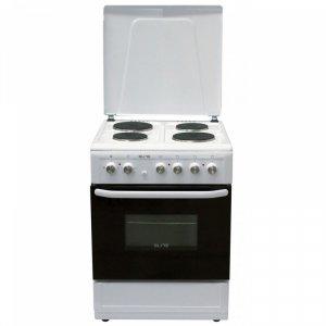 Готварска печка Elite EFC-6060, Обем 65 л, Бял