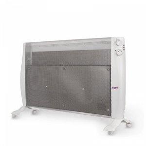 Подов лъчист конвектор Tesy MC 20111, 421940, MICA Нагревател, Максимална мощност 2000 W, Бял