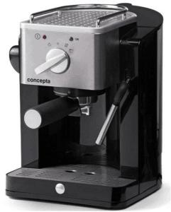 Кафемашина Concepta EC 210,411550, Еспресо, 900 W, 15 бара, Черна