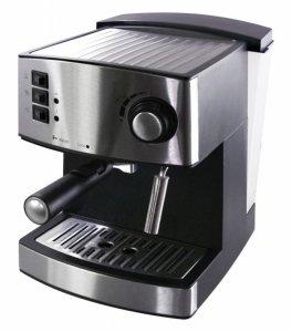 Кафемашина Еlekom ЕК 207, Еспресо, 1050 W, 15 бара, Черна/Сива