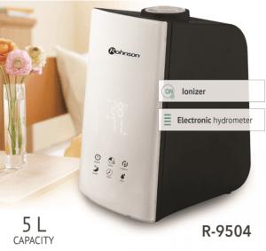 Овлажнител Rohnson R 9504, Таймер капацитет 350 мл/ч