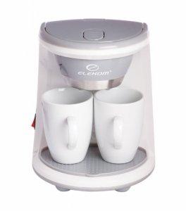 Кафемашина шварц Elekom EK 0231, 450 W, 2 чаши, Бяла
