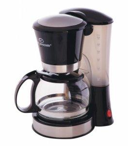 Кафемашина шварц Elekom EK 0635, 650 W, 6 чаши, Черна