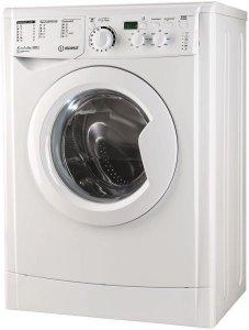 Пералня Indesit EWSD 61051 W EU, 6 кг, 1000 об/мин, Клас A+, Бяла