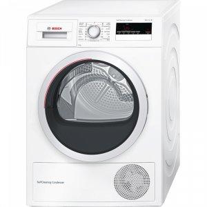 Сушилня Bosch WTM85250BY, Обем 8 кг, Клас А++, Бял