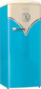 Хладилник с една врата Gorenje OBRB153BL, Обем 254л, Клас А+++, H 154, Ретро дизайн