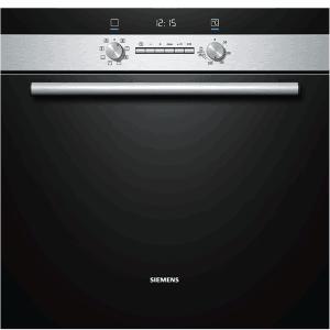 Фурна за вграждане Siemens HB43GT555, Клас А, 60 л, Иноксова/Черна