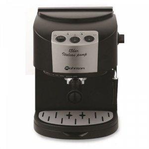 Кафемашина Rohnson R 976, Еспресо, 1050 W, 15 бара, Черна/Сива