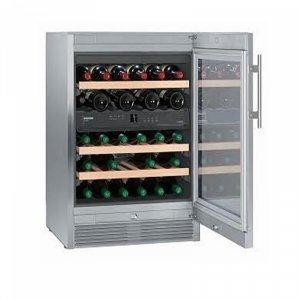 Виноохладител Liebherr WTES1672, клас А, 36 бутилки
