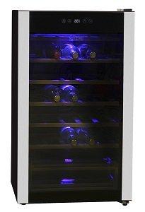 Хладилна витрина Midea HS-128WEN, обем 93 л, клас A