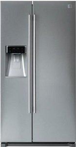Хладилник с фризер DAEWOO FRN-Q19D1M, обем 512 л, клас А+