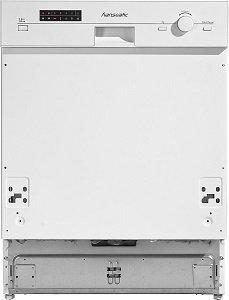 Съдомиялна за вграждане Hanseatic 805767 (WQP12-9350C W Front), 12 комплекта, Клас А+, Бял