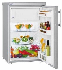 Хладилник с една врата Liebherr Tsl 1414, Обем  107л, Клас А+, H 85см, Сив