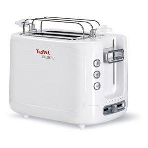 Тостер Tefal TT 360131, Мощност 850 W, Бял
