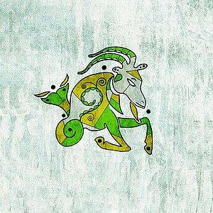 Гривна за Зодия Козирог Изображение