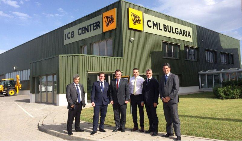 Висшето ръководство на JCB в България