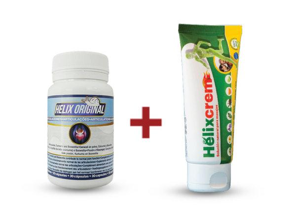 Натурална добавка Helix + Helix крем за ставни болки