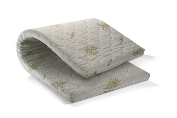 Топ матрак Aloe Comfort NEW - 7 см, полиуретанова пяна