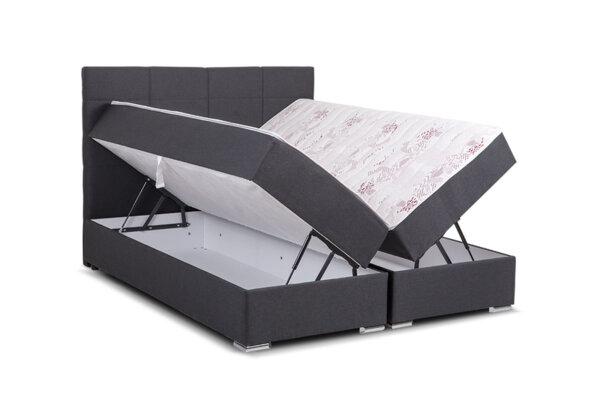 Легло Double Comfort Dark 160/200 см с два матрака - Sleepy