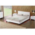 Тапицирано легло с ламелна рамка Daneta, за матрак 160/200 или 180/200 см.